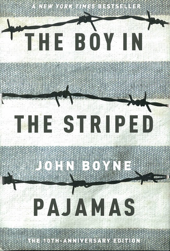 photo cover of the book the boy in the striped pajamas